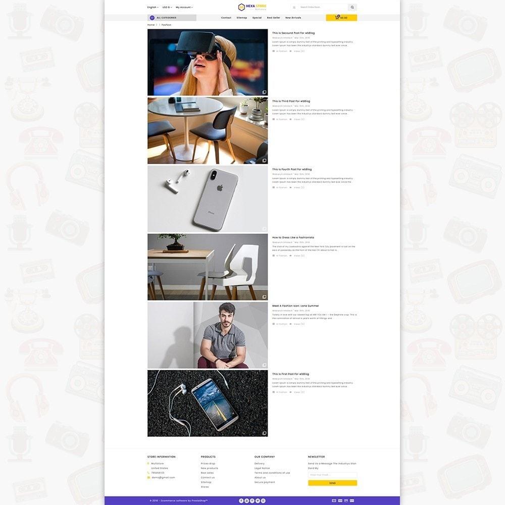 theme - Elektronik & High Tech - HexaStore - The MultiStore - 6