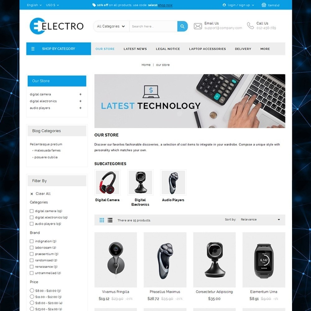 theme - Elektronica & High Tech - Electro - The Electronic Store - 2