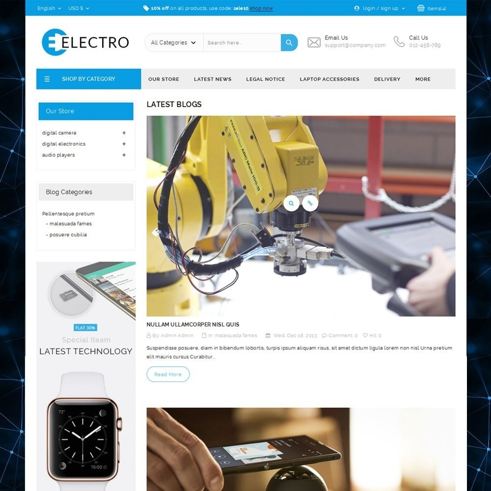 theme - Elektronica & High Tech - Electro - The Electronic Store - 5
