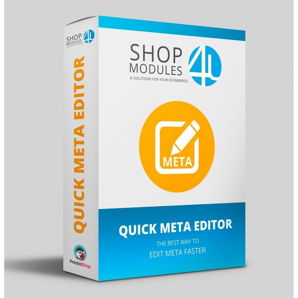 module - SEO (Posicionamiento en buscadores) - Quick Meta Editor - 1