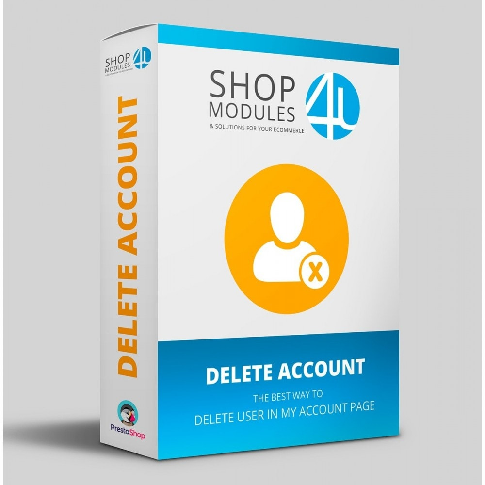 module - Législation - Delete Account (GDPR 2018 requirement) - 1