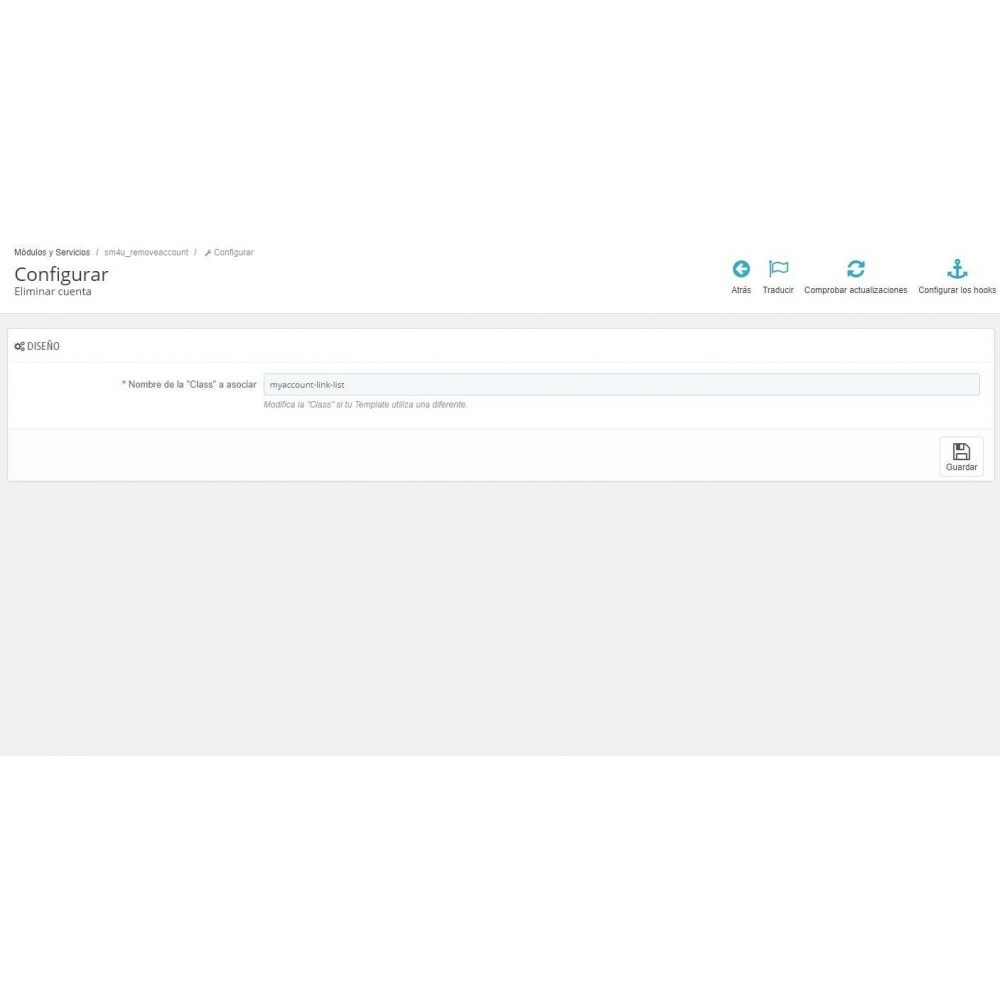 module - Marco Legal (Ley Europea) - Eliminar cuenta (requisito GDPR 2018) - 3