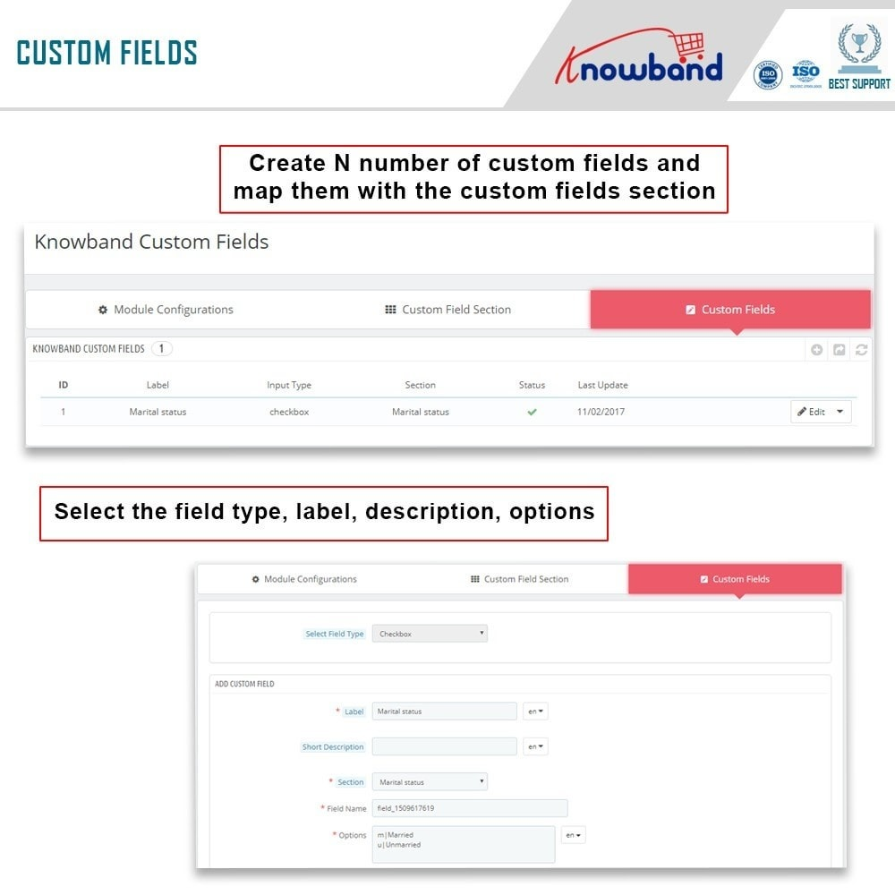 module - Registration & Ordering Process - Knowband - Custom Field Registration - 5