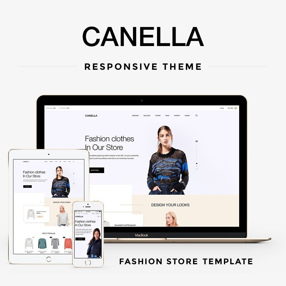 theme - Fashion & Shoes - Canella Fashion Store - 1