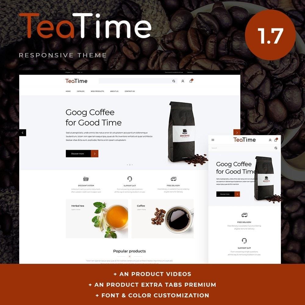 theme - Alimentos & Restaurantes - TeaTime - 1