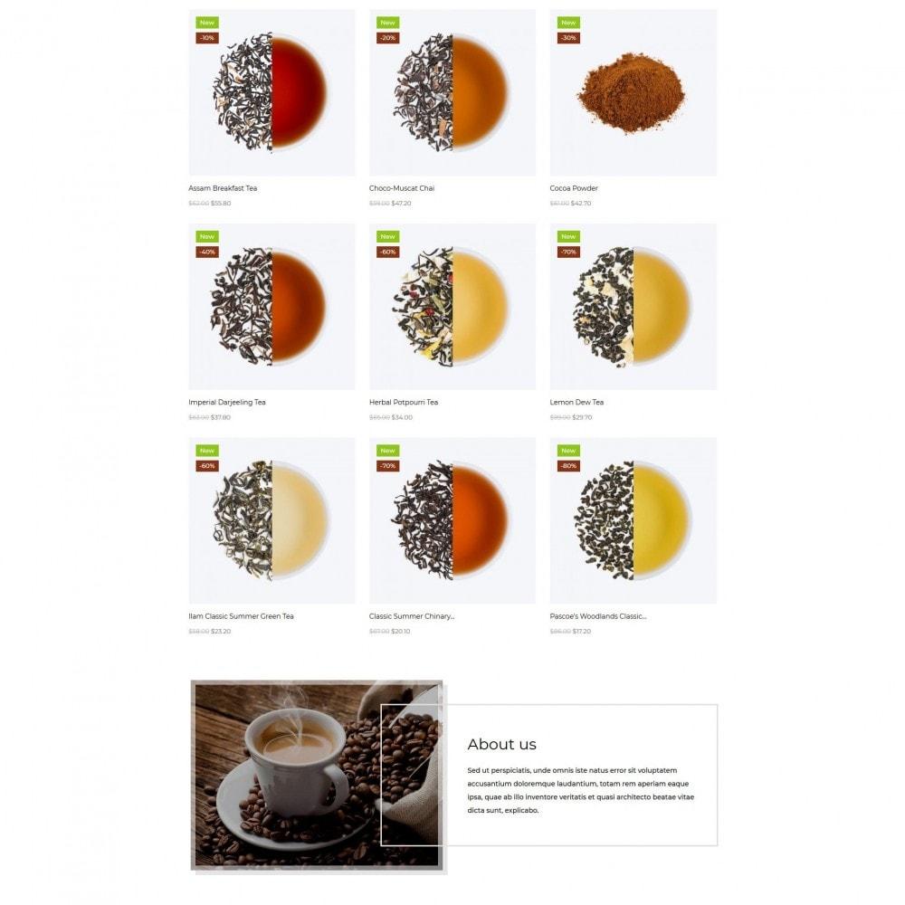 theme - Gastronomía y Restauración - TeaTime - 3