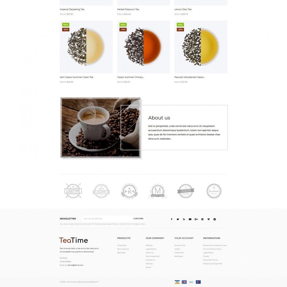 theme - Alimentos & Restaurantes - TeaTime - 4