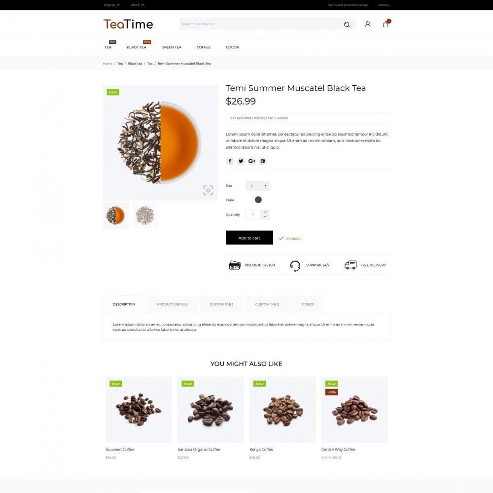 theme - Alimentos & Restaurantes - TeaTime - 6