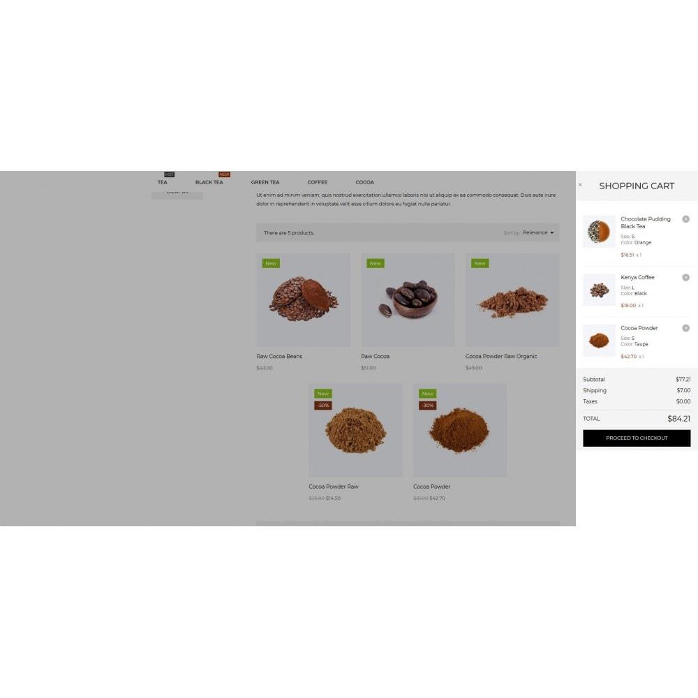 theme - Alimentos & Restaurantes - TeaTime - 10