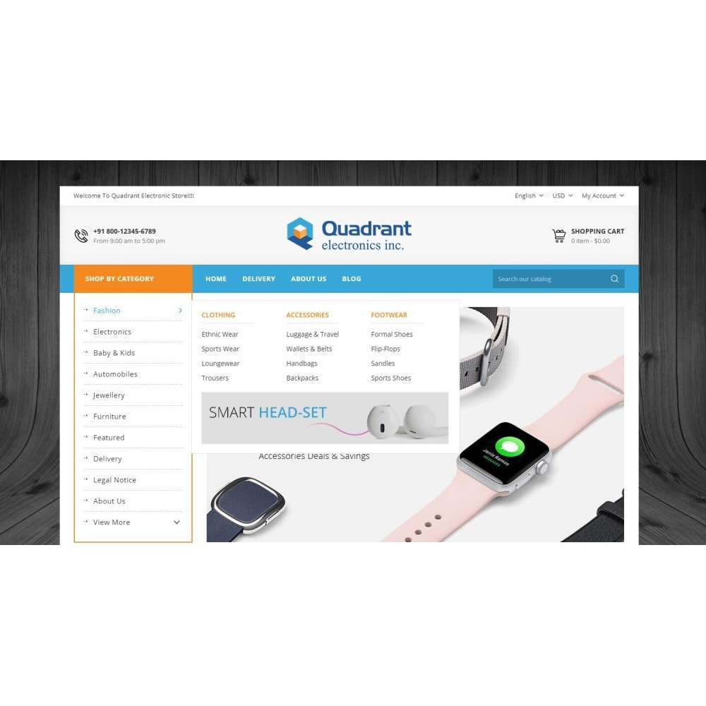 theme - Elettronica & High Tech - Quadrant - Electronic Store - 6