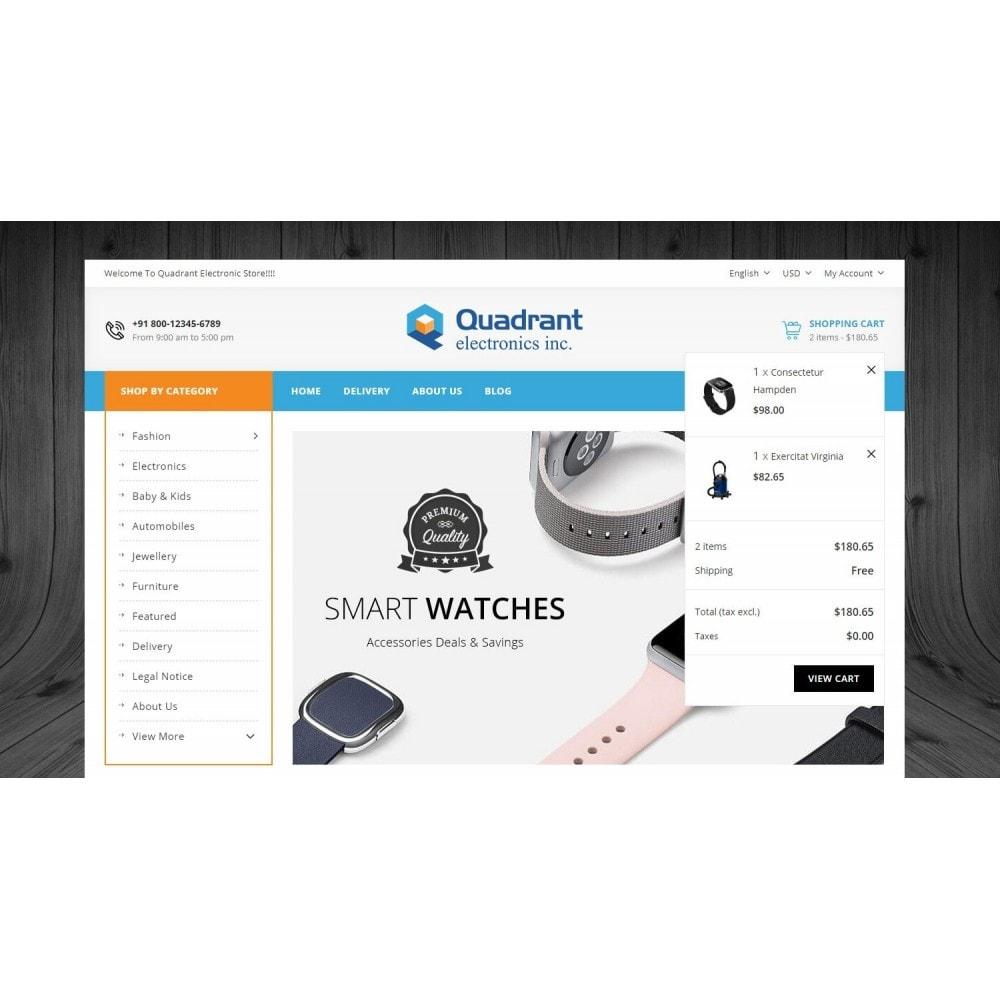 theme - Elettronica & High Tech - Quadrant - Electronic Store - 7