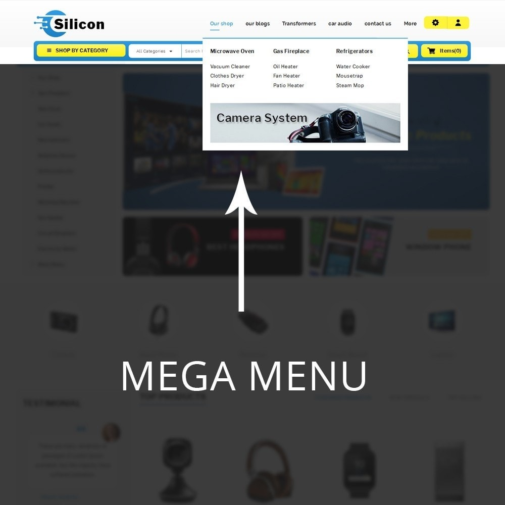 theme - Elettronica & High Tech - Silicon - The Electronic Store - 9