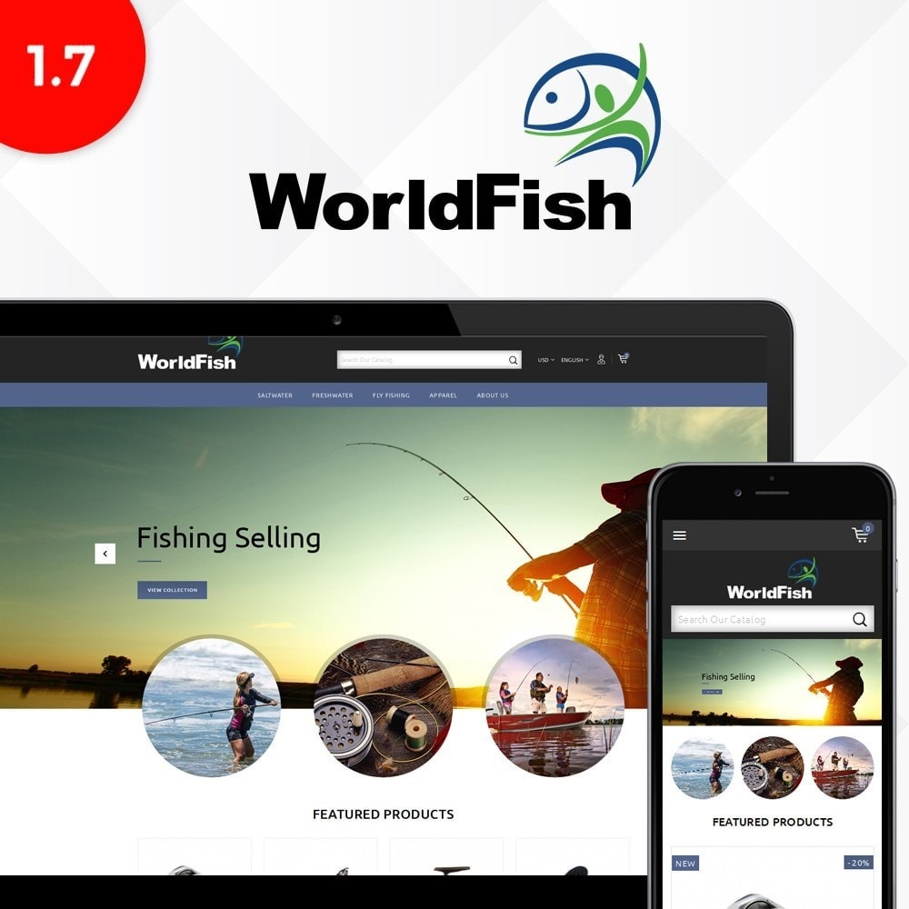 theme - Animali - WorldFish Store - 1