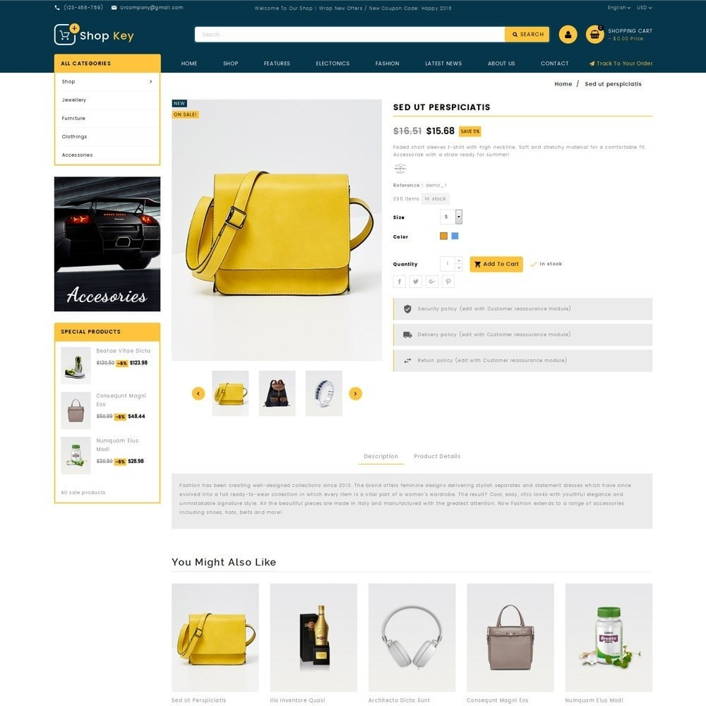 theme - Mode & Schoenen - Shop key Store - 5