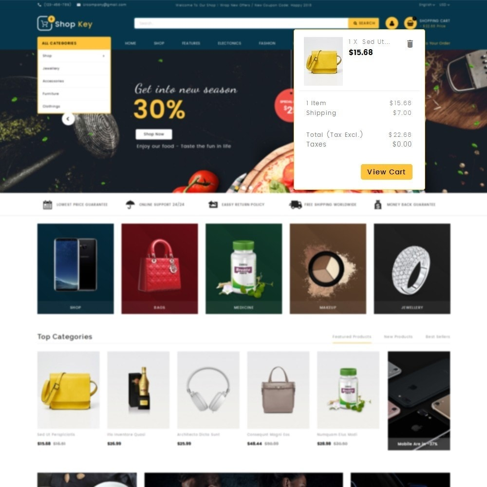 theme - Mode & Schoenen - Shop key Store - 8
