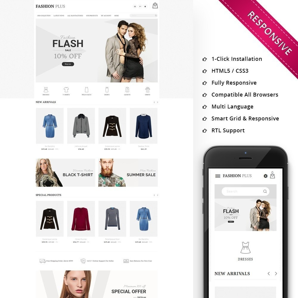 theme - Mode & Schoenen - Fashion Plus - The Fashion Shop - 1