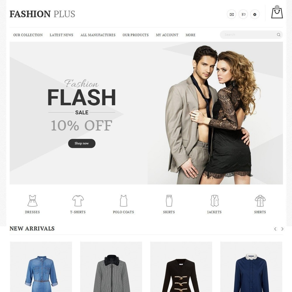 theme - Mode & Schoenen - Fashion Plus - The Fashion Shop - 2