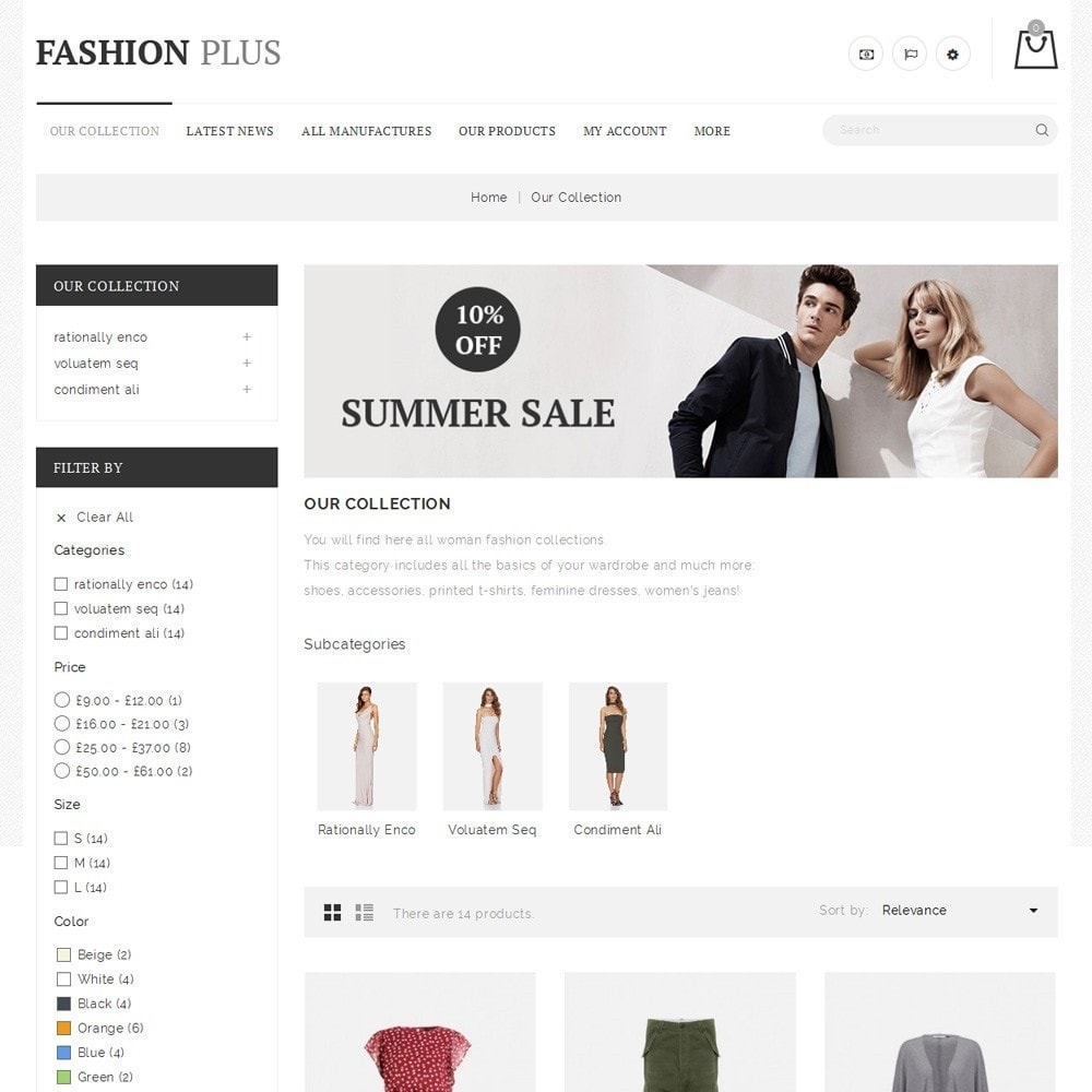 theme - Mode & Schoenen - Fashion Plus - The Fashion Shop - 3