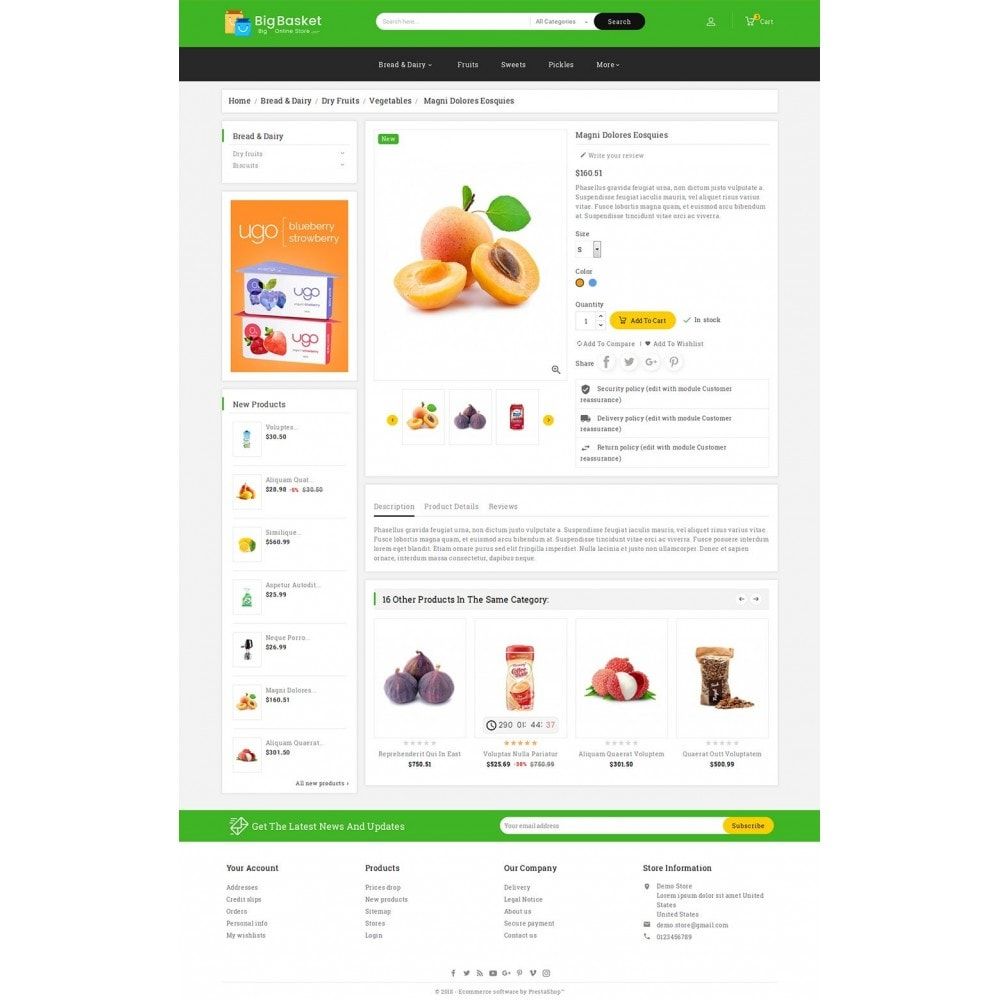 theme - Eten & Restaurant - Big Basket Mega Grocery - 5