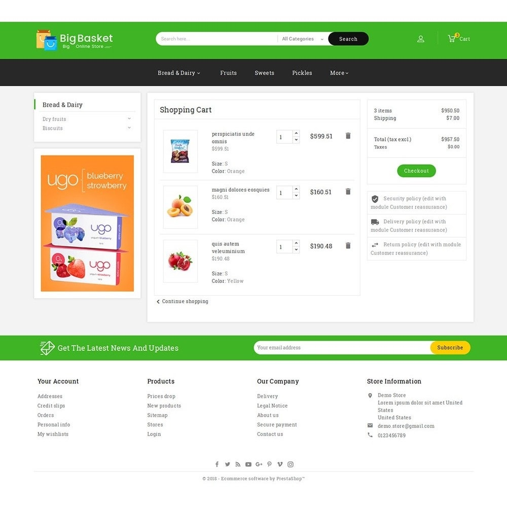 theme - Eten & Restaurant - Big Basket Mega Grocery - 6