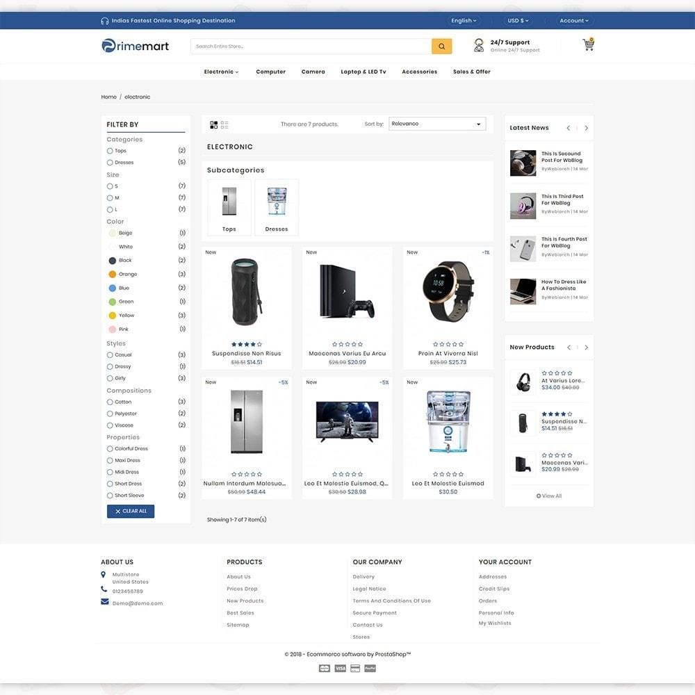theme - Elektronika & High Tech - PrimeMart - The Mega Ecommerce Store - 3