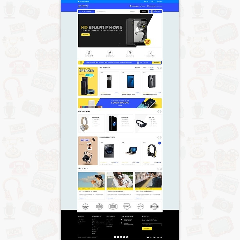 theme - Electronique & High Tech - eBuying - The Best Electronics Store - 1