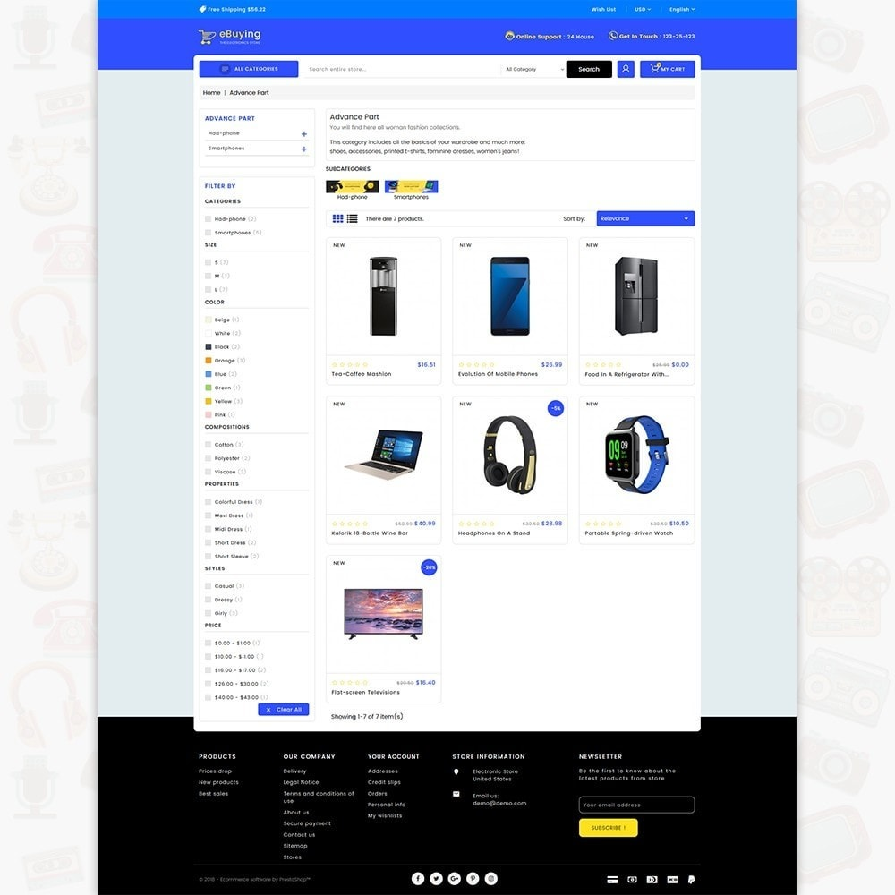 theme - Electronique & High Tech - eBuying - The Best Electronics Store - 3