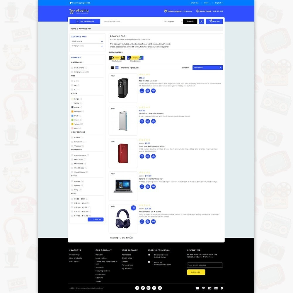 theme - Electronique & High Tech - eBuying - The Best Electronics Store - 4