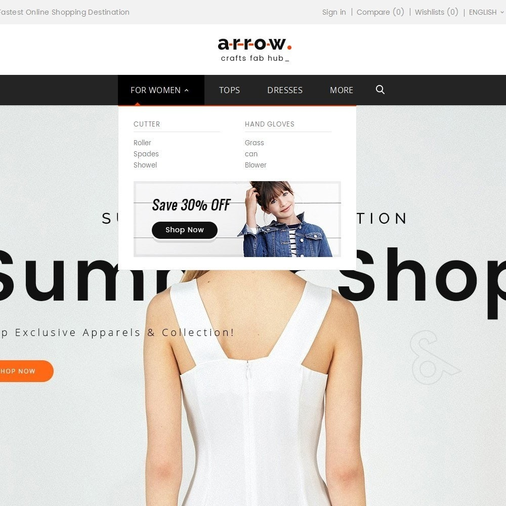 theme - Мода и обувь - Arrow Fashion Apparels - 9