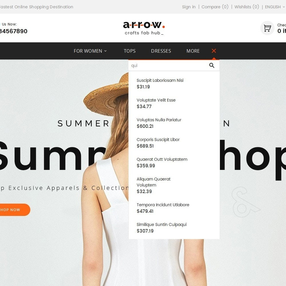theme - Мода и обувь - Arrow Fashion Apparels - 10