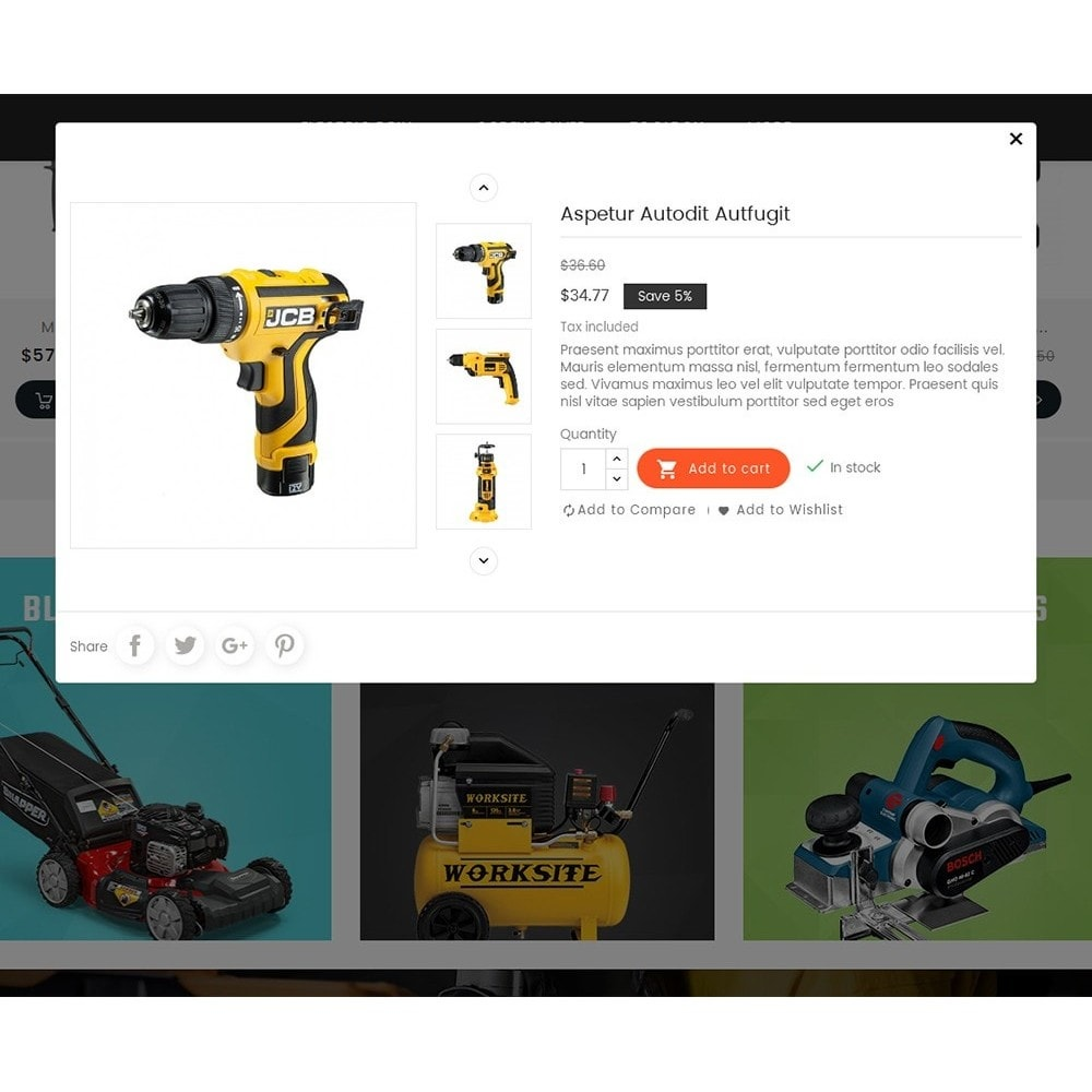 theme - Дом и сад - Power Tools Store - 8