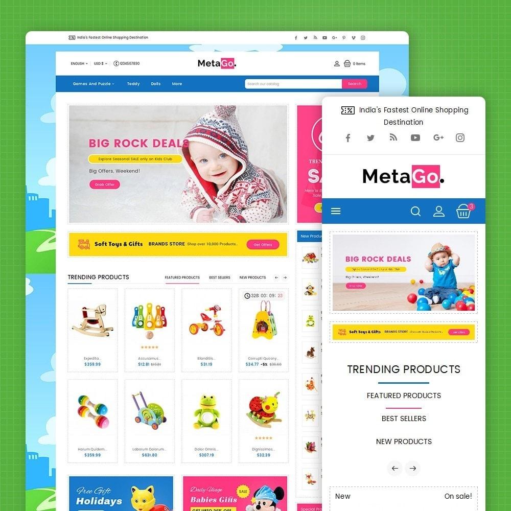 theme - Crianças & Brinquedos - Melano Kids Toys - 1
