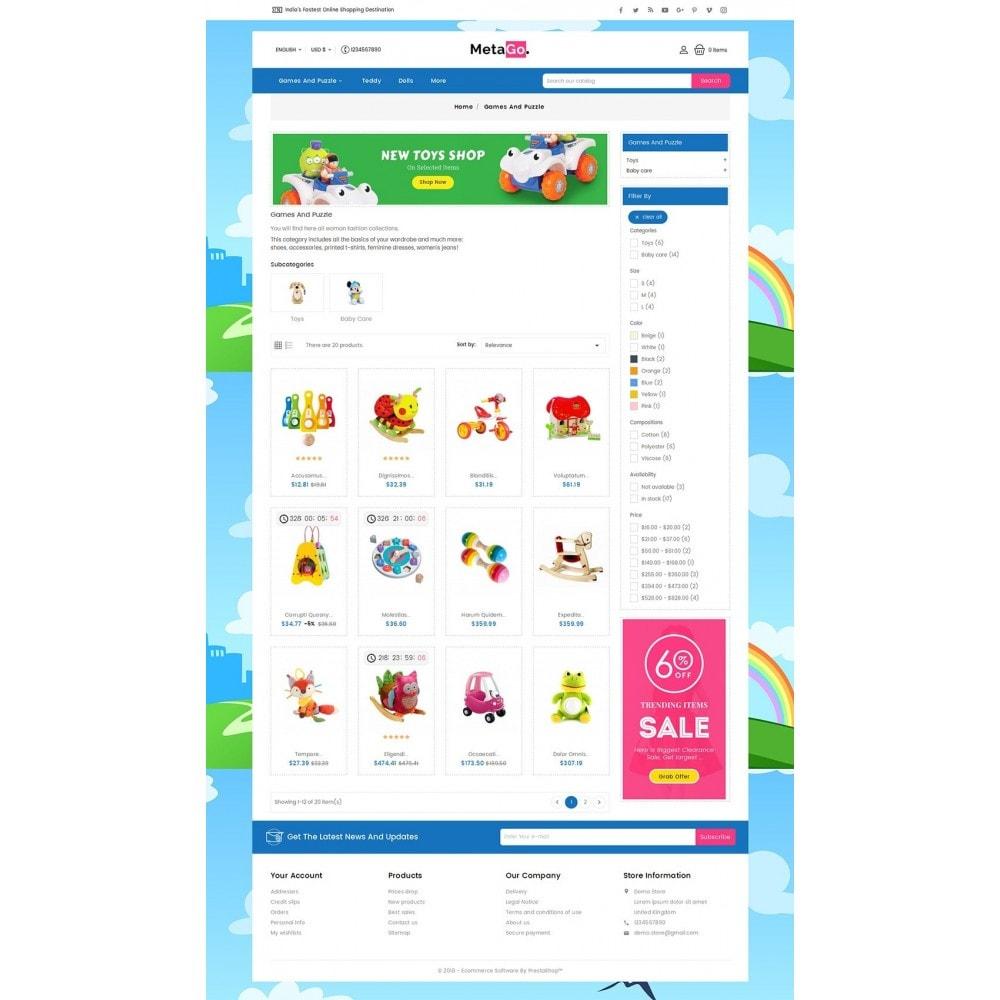 theme - Crianças & Brinquedos - Melano Kids Toys - 3