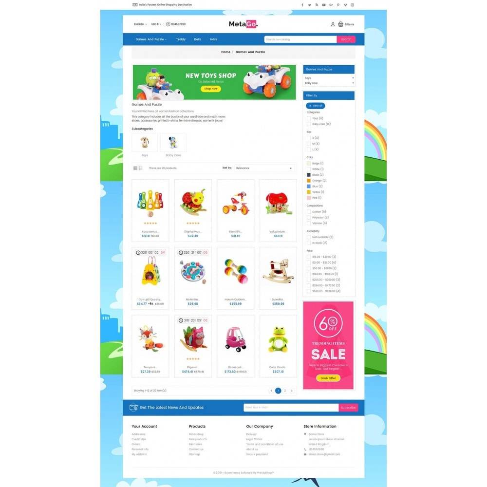 theme - Kinderen & Speelgoed - Melano Kids Toys - 3