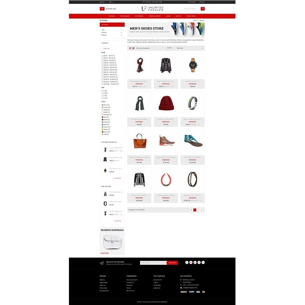 theme - Moda & Obuwie - Unlimited Fashion Store - 3