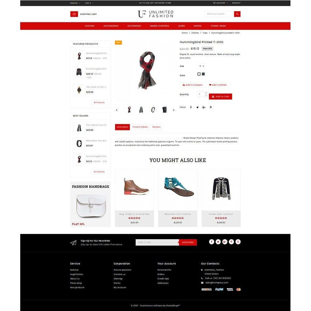 theme - Moda & Obuwie - Unlimited Fashion Store - 5