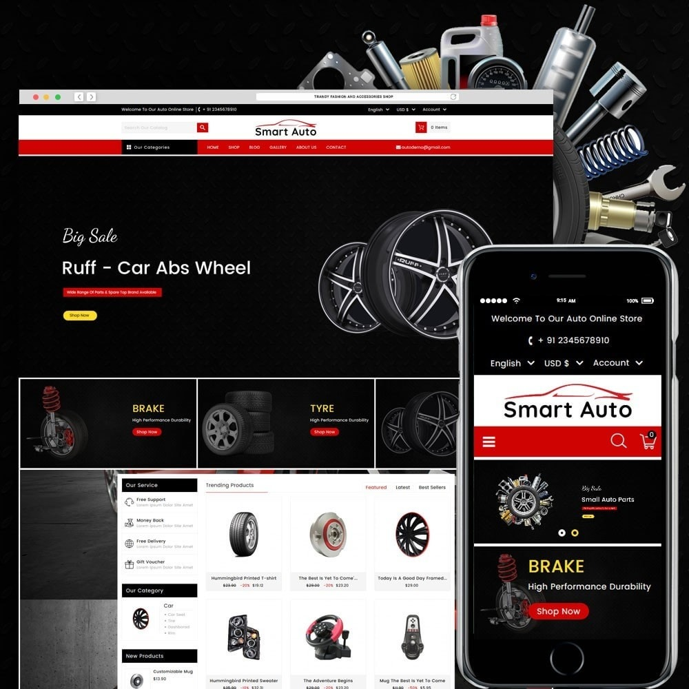 theme - Auto & Moto - Smart Auto - 1