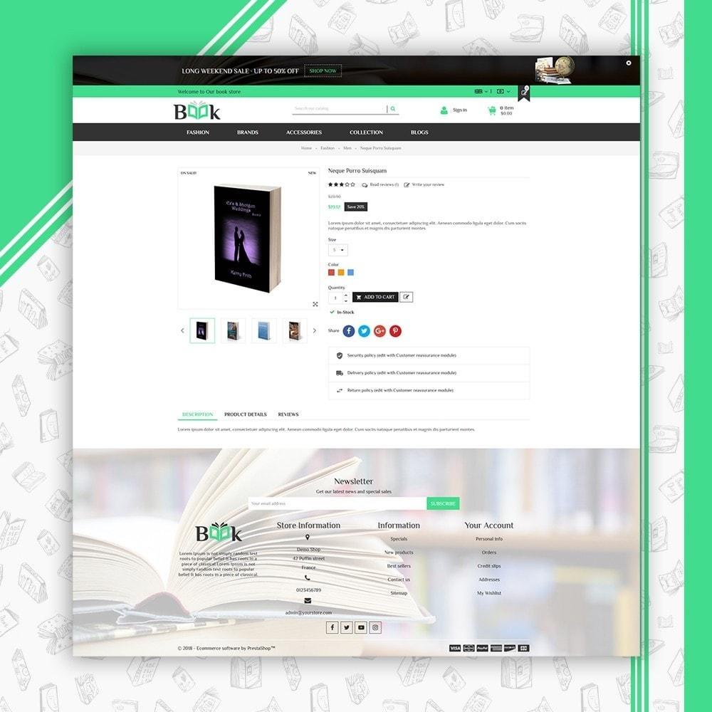 theme - Искусство и Культура - Book Store - 4