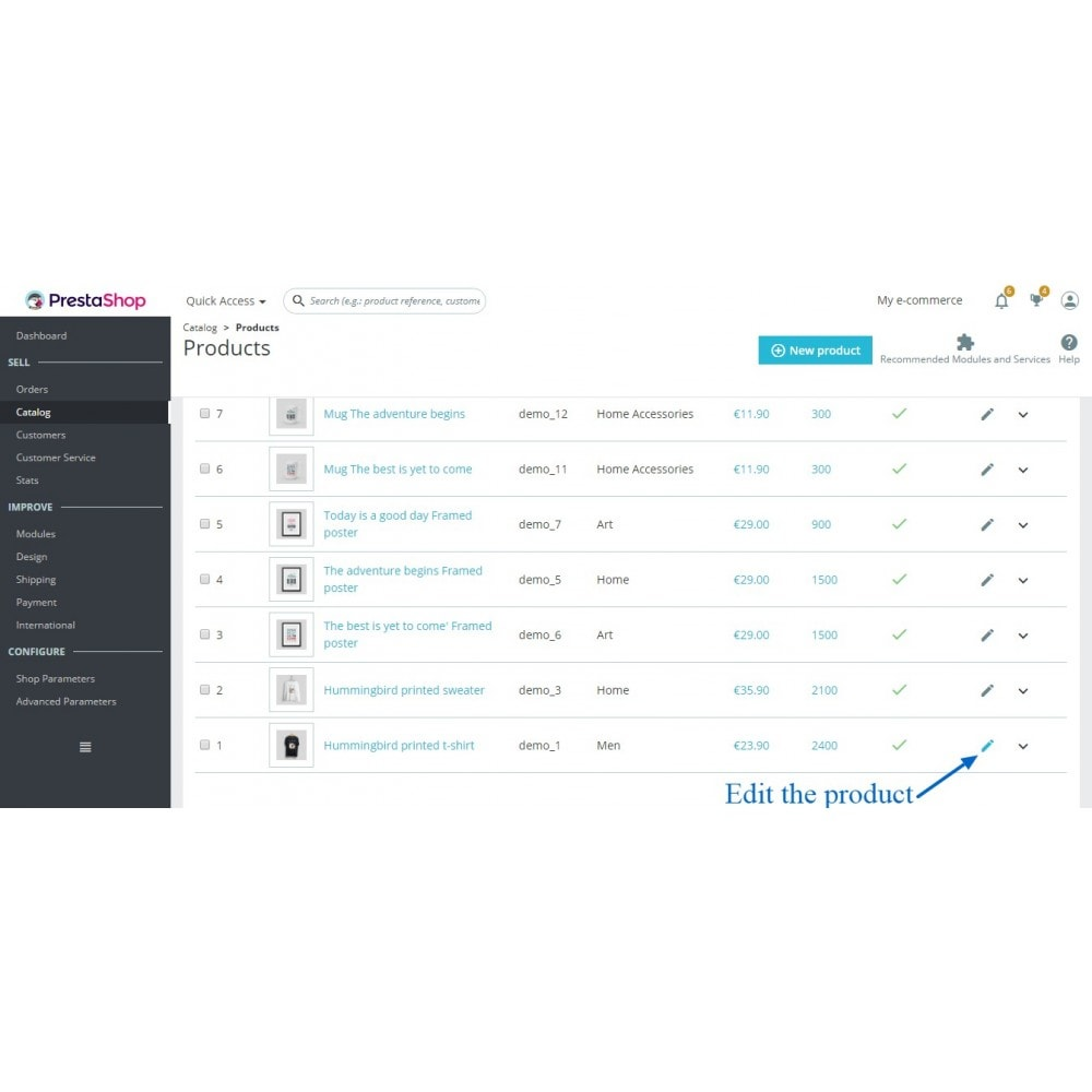module - Estoques & Fornecedores - Quantity Manager - 2