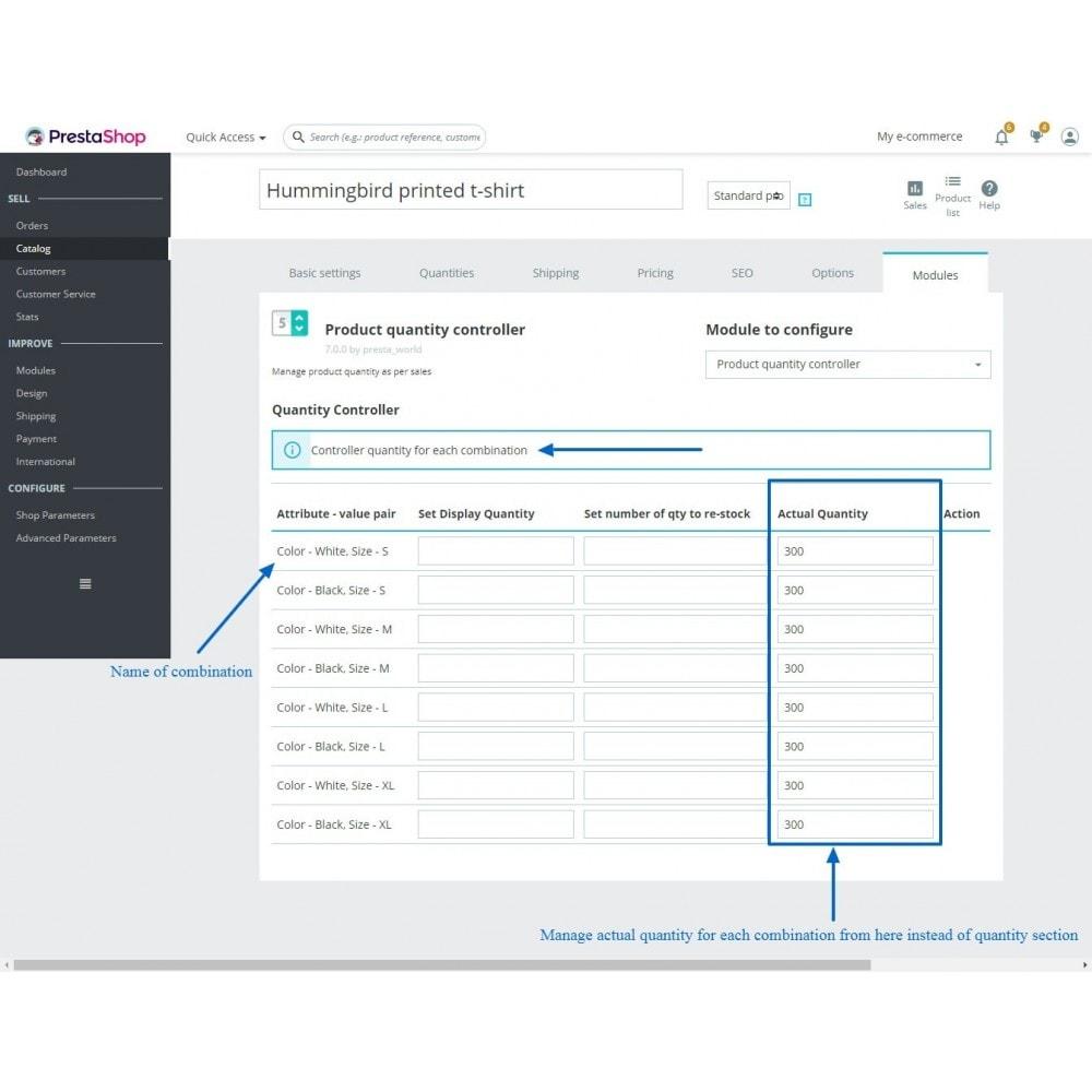 module - Estoques & Fornecedores - Quantity Manager - 6
