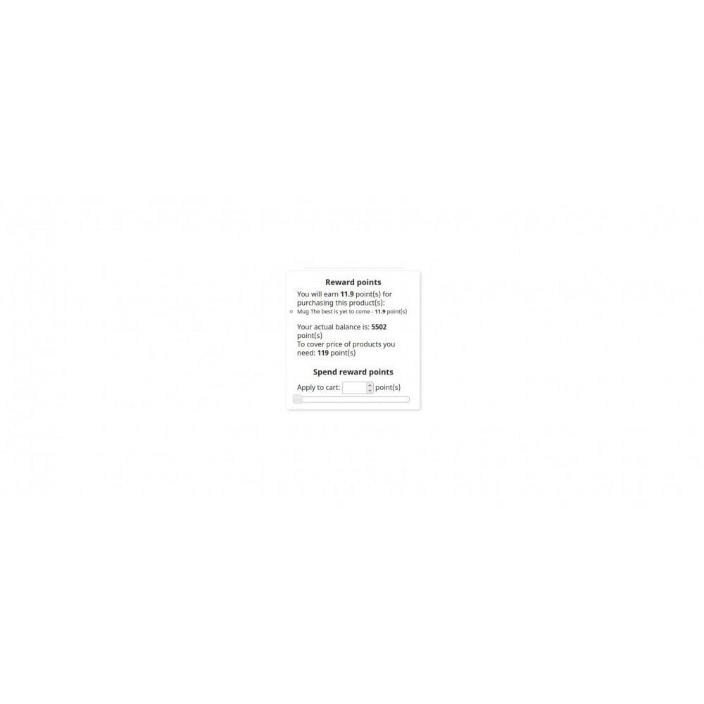 module - Referral & Loyalty Programs - Reward Points / Internal loyalty points - 2