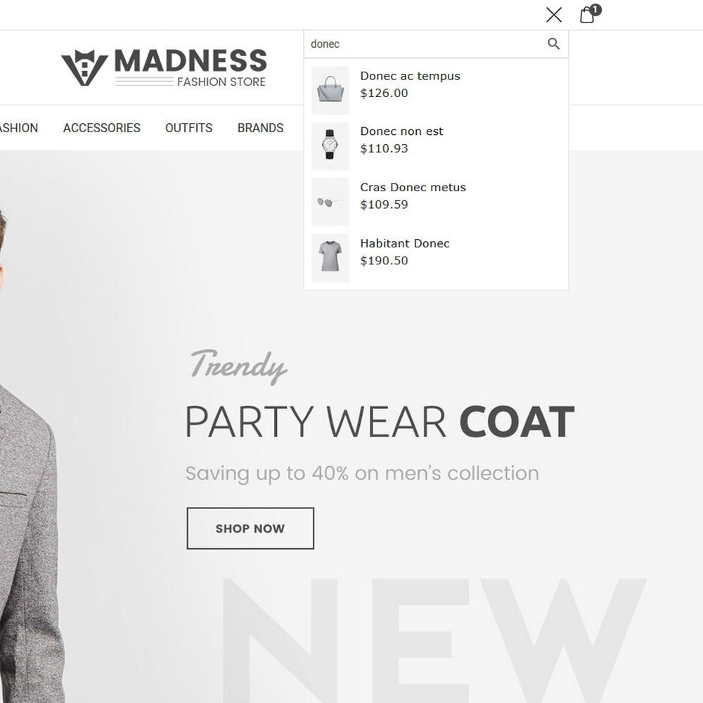 theme - Moda & Calçados - Madness Fashion Store - 3