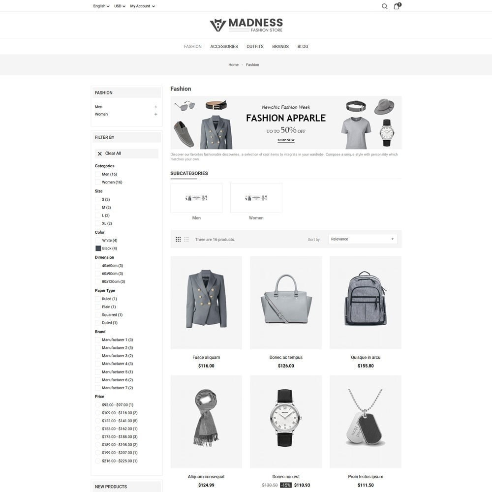theme - Moda & Calçados - Madness Fashion Store - 5