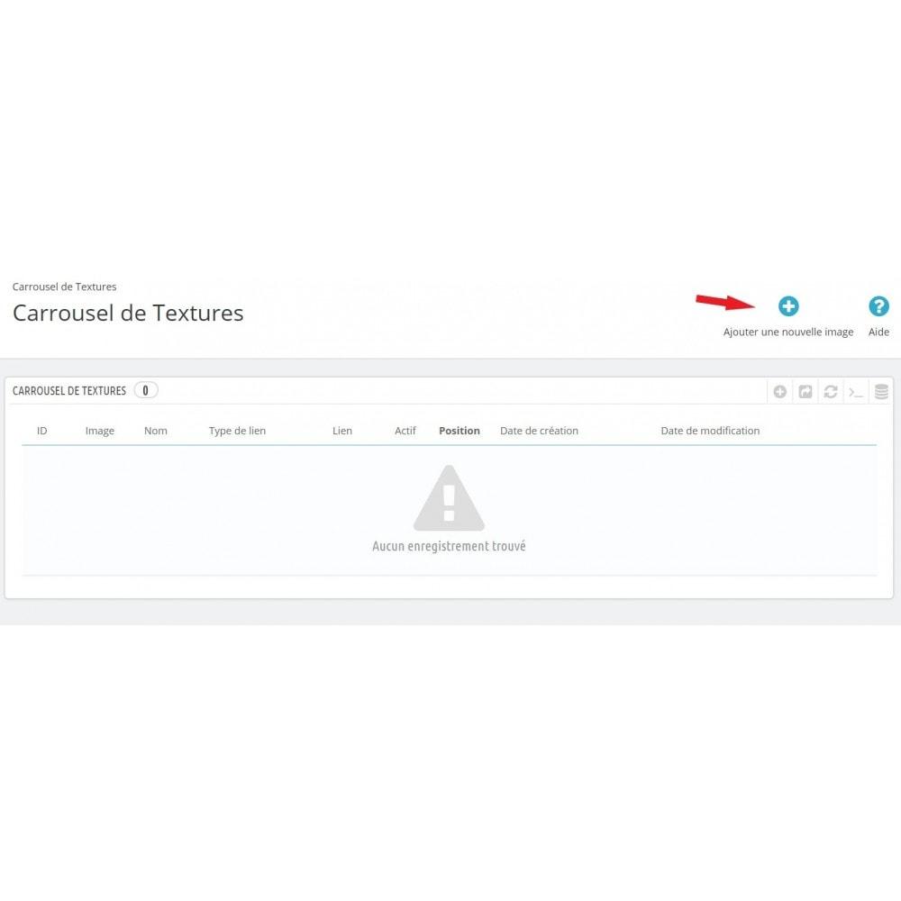 module - Sliders & Galeries - Carrousel de Textures - 7