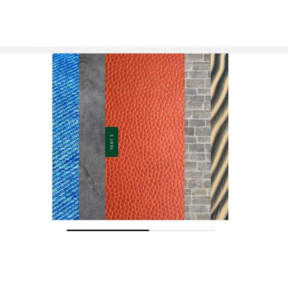 module - Sliders & Galeries - Carrousel de Textures - 1