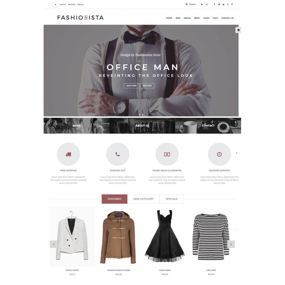 theme - Moda & Calzature - The Fashionista - 2