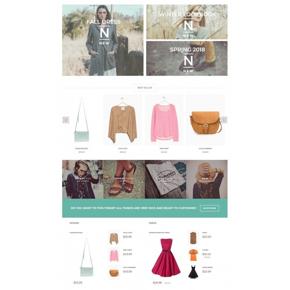 theme - Moda & Calzature - The Fashionista - 3