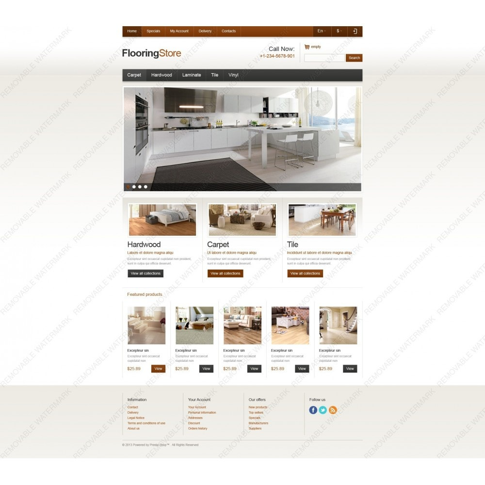 theme - Art & Culture - Responsive Flooring Store - 6