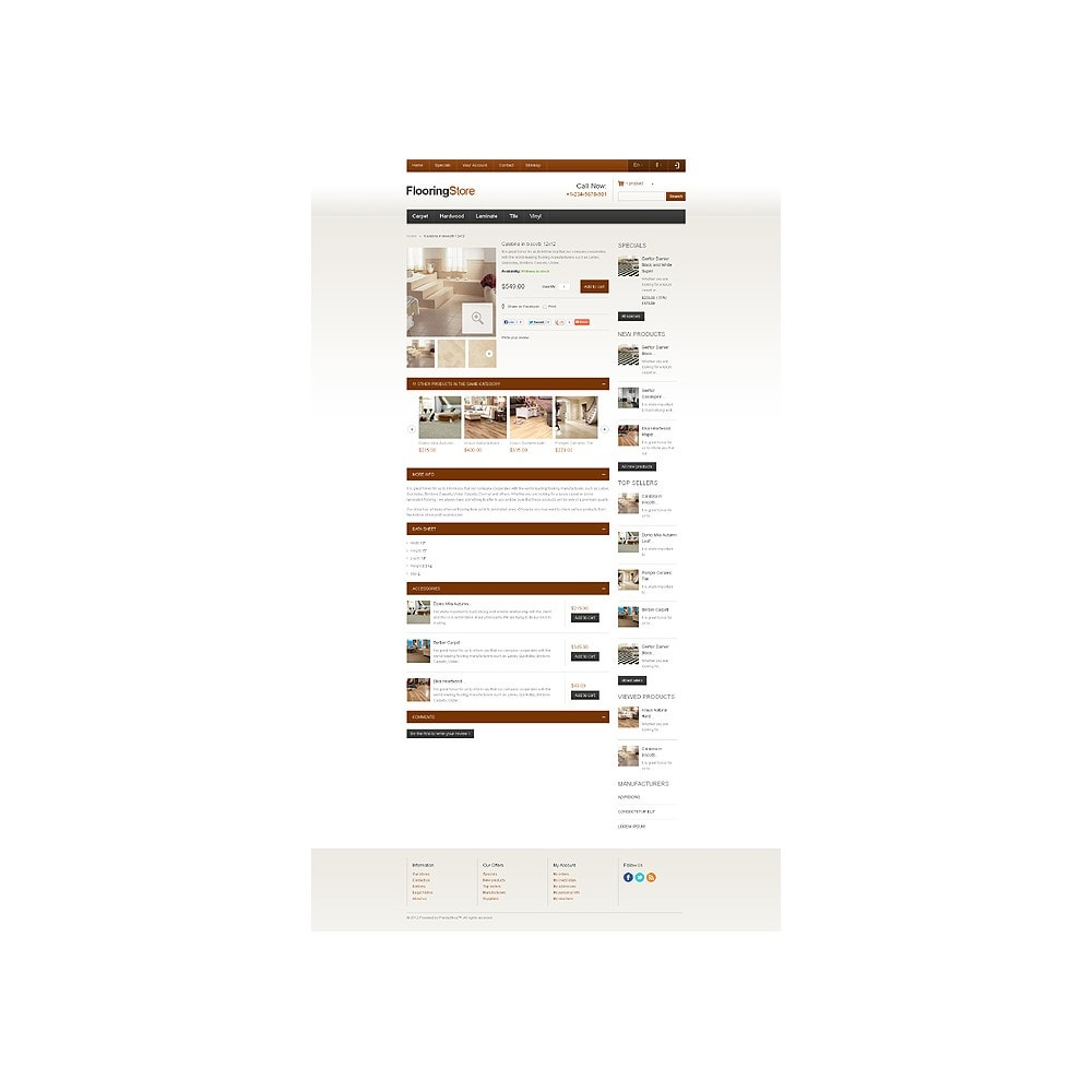 theme - Art & Culture - Responsive Flooring Store - 7