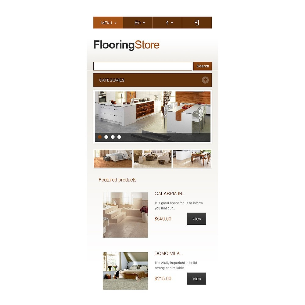 theme - Art & Culture - Responsive Flooring Store - 9